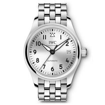 IWC Pilots Silver Dial Automatic 36 mm IW324006