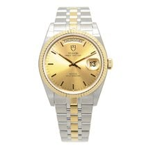 Tudor New  Price Date-day Gold And Steel Gold Automatic...