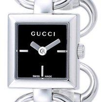 Gucci Tornabuoni Stainless Steel Womens Fashion Bangle Watch...