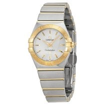 Omega Ladies O12320246002002 Constellation 18kt Gold  Watch