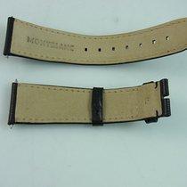 Montblanc Lederarmband Uhrenarmband Leder Schwarz 22 Mm Zu 18...