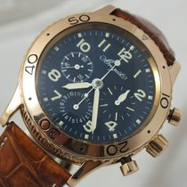 Breguet Flyback Aeronavale Type XX 3800 Blue Dial Gold 18K
