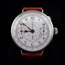 Sabina Mono Pusher with white enamel and snail tachometer scale