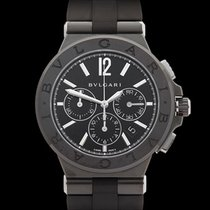 Bulgari Diagono PVD Chronograph PVD Coated Stainless Steel /...