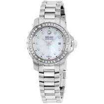 Movado Series 800 Diamond Mop Dial Ladies Watch 2600120