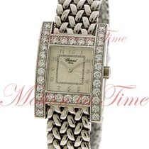 Chopard Your Hour, Silver Dial, Diamond Bezel - White Gold on...