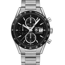 TAG Heuer Carrera Calibre 16 Chronograph Black Dial