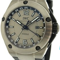 IWC Ingenieur Dual Time Automatic Titanium Watch IW326403