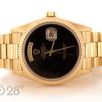 Rolex Day-Date 18038 Gelbgold - Onyx Dial - aus ca. 1979
