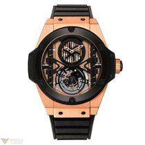 Hublot Classic Fusion Tourbillon Manufacture Gold Ceramic 18K...