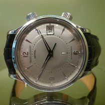 Jaeger-LeCoultre modern memovox jumbo auto date silver dial...