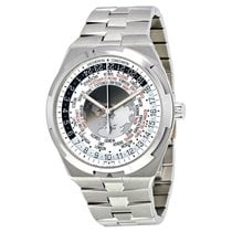 Vacheron Constantin Overseas World Time Silver Dial Men's...