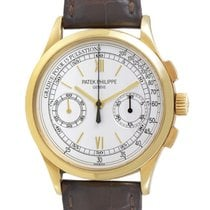 Patek Philippe Men's Gold Manually Wound Classic Chronogra...
