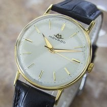 Movado Dress Watch Gold Plated & Stainless Steel Manual...