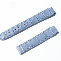Chopard Croco Band Strap Blau Blue 16 Mm 75/110 New C16-114 -70%