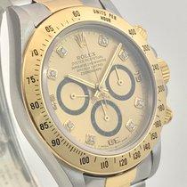 Rolex Daytona L Serie Diamond Dial Full Set Collectors Watch