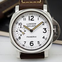 Panerai PAM00602 Luminor Daylight 8 Days White Dial SS (26049)