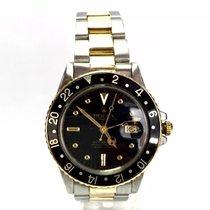 勞力士 (Rolex) Oyster Perpetual Gmt-master 18k Gold & Ss Mens...