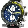 IWC Aquatimer Collection Aquatimer Chronograph Black Dial...