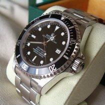 Rolex SEA DWELLER REF 16600 FLAT FOUR ++WIE NEU++Papiere Box EU
