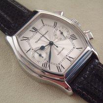 Girard Perregaux Richeville Chronograph mit Lederband und...