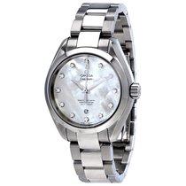 Omega 23110342055002 Seamaster Pearl Diamond Ladies Watch
