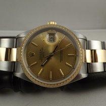 Rolex Date ref. 15223 acciaio oro scatola garanzia revisione