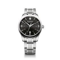 Victorinox Swiss Army Alliance quartz, black dial, steel...