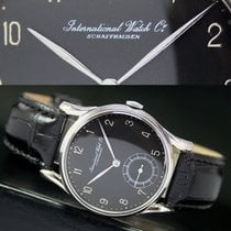 IWC Schaffhausen Winding Side Sec Steel Men Watch
