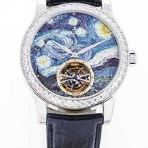 Jaeger-LeCoultre Master Grand Tourbillon Enamel - White Gold