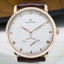 Blancpain 4063-3642-55b Villeret Retrograde Seconds 18K Rose...