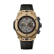Hublot Big Bang Unico 45mm Automatic 18kt Magic Gold Mens...