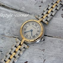 Cartier Panthere Ronde Damenuhr (Stahl / Gold)