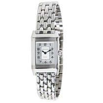 Jaeger-LeCoultre Reverso Duetto 266.8.44 Diamond Womens Watch...