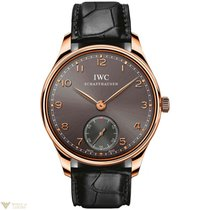 IWC Portuguese Hand Wound Rose Gold 18K Men`s Watch