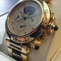 Cartier Pasha Yellow GOLD LIMITED SERIES  BOX  AND PAPER