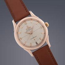 Omega Constellation watch rose gold capped automatic