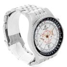Breitling Montbrillant Legende Silver Dial Steel Mens Watch...