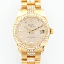 Rolex Yellow Gold Diamond Datejust President Ref. 178288