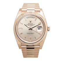 Rolex Day-date 18k Pink Gold Pink Automatic 228235PK