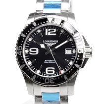 Longines Conquest Stainless Steel Black Automatic L3.641.4.56.6
