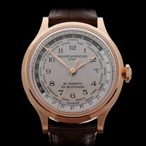 Baume & Mercier Capeland WorldTimer 18k Rose Gold Gents...