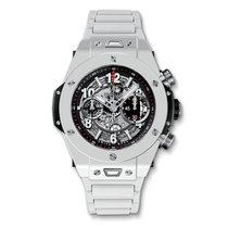 Hublot Big Bang Unico 45mm White Ceramic Mens Watch Ref...