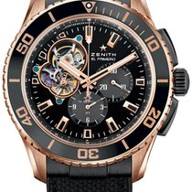 Zenith Heritage Icons Stratos Spindrift 45mm Rose Gold...