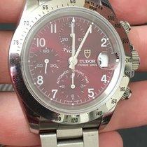 Tudor Tiger Chronograph 79280 40mm Saphire Crystal Maroon...