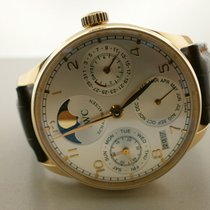 IWC Portuguese 5022-13 18k Rose Gold 42.3mm Perpetual Calendar No