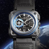 Bell & Ross BR-X1 blu edition full set  EXPORT PRICE