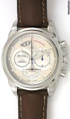 Omega DeVille Co-Axial Chronoscope Chronograph