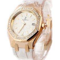 Audemars Piguet Lady's Royal Oak Sport in Rose Gold with...