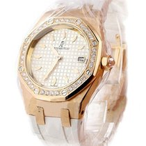 Audemars Piguet Lady's Royal Oak Sport in Rose Gold with...